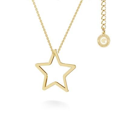 Collar estrella, MON DÉFI plata 925