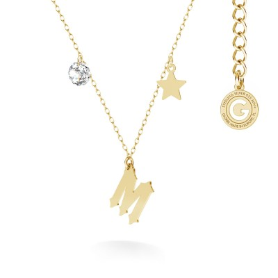 Halskette stern MON DÉFI silber 925