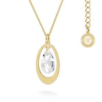 Collana trifoglio MON DÉFI, argento 925
