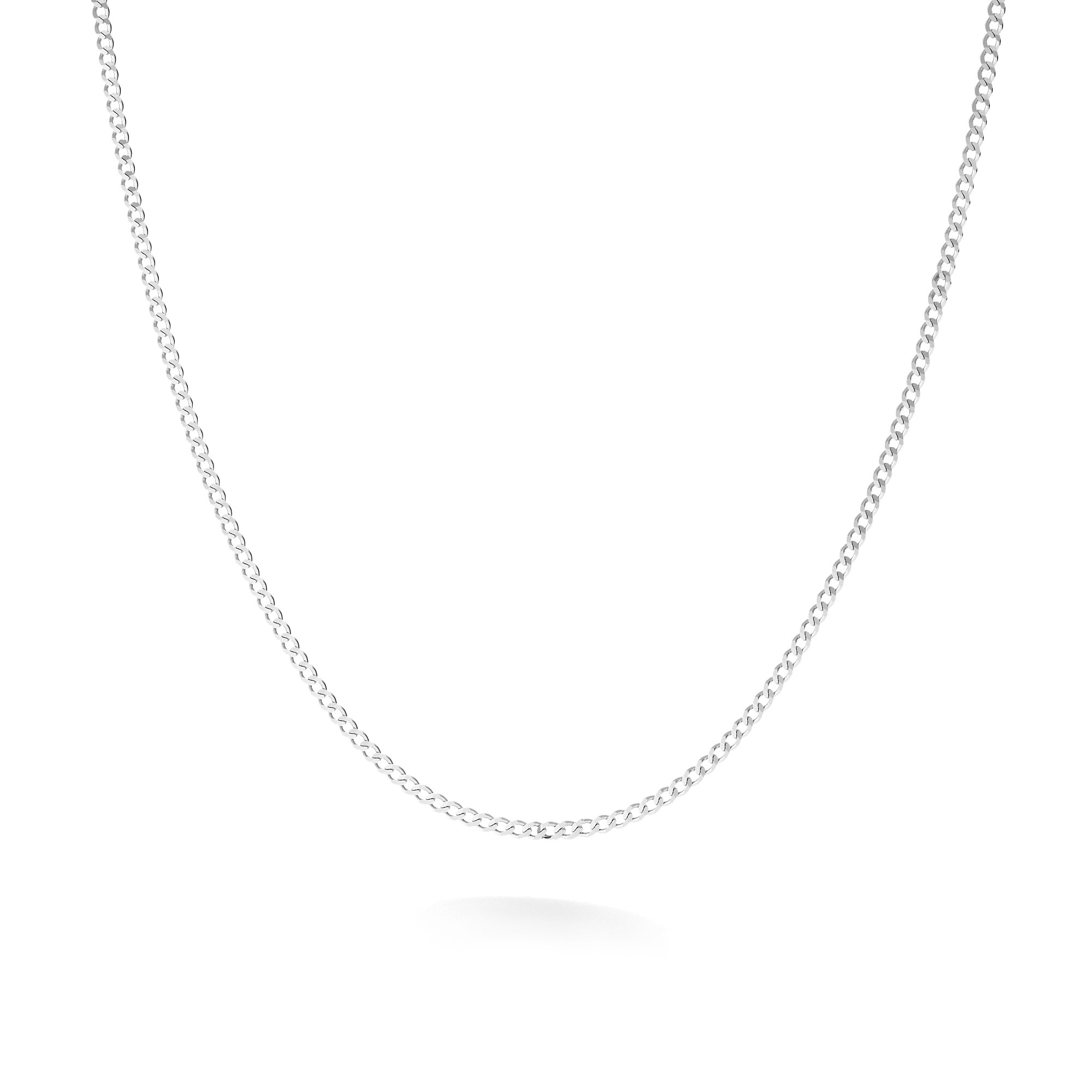 Curb chain sterling silver