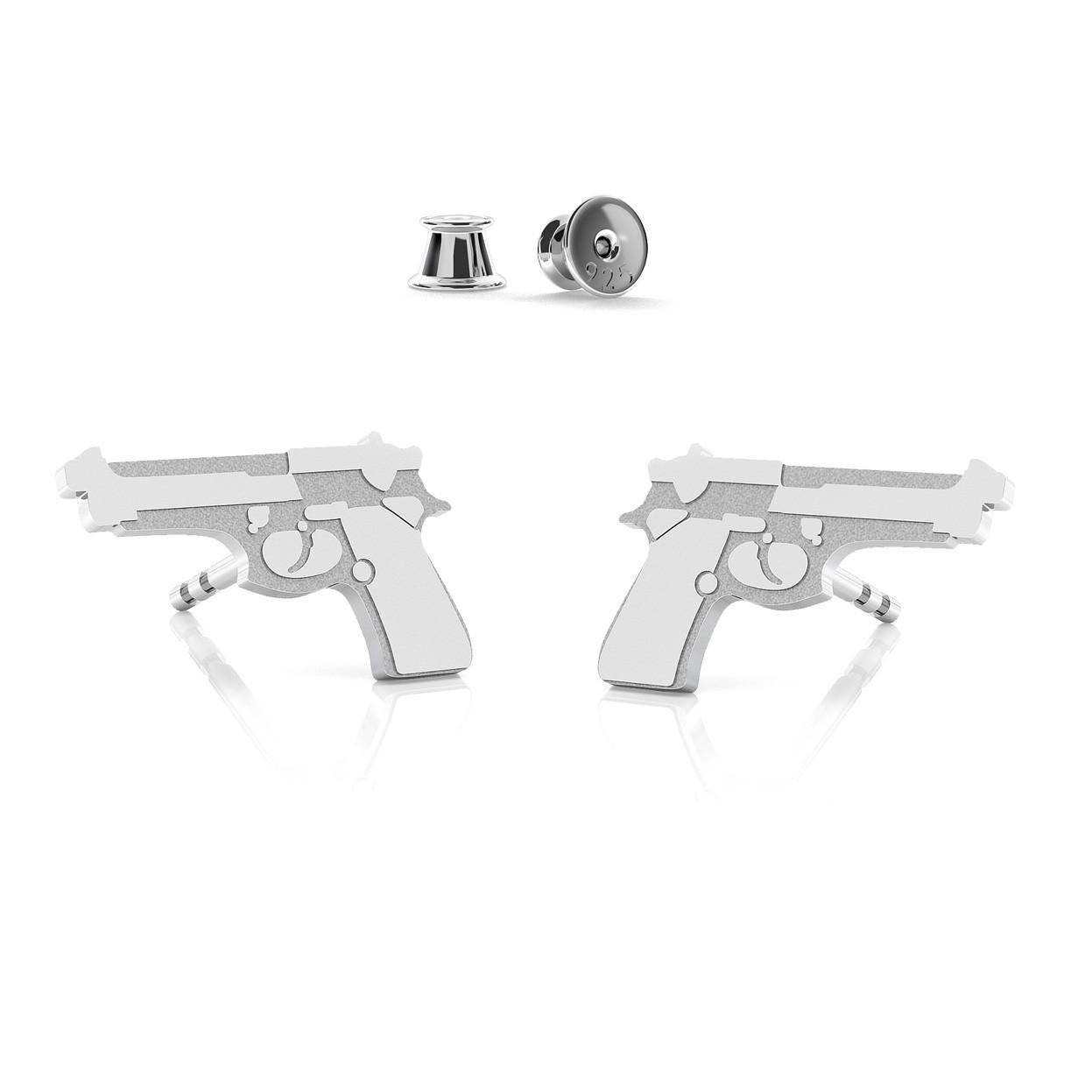 Hummingbird earrings, silver 925