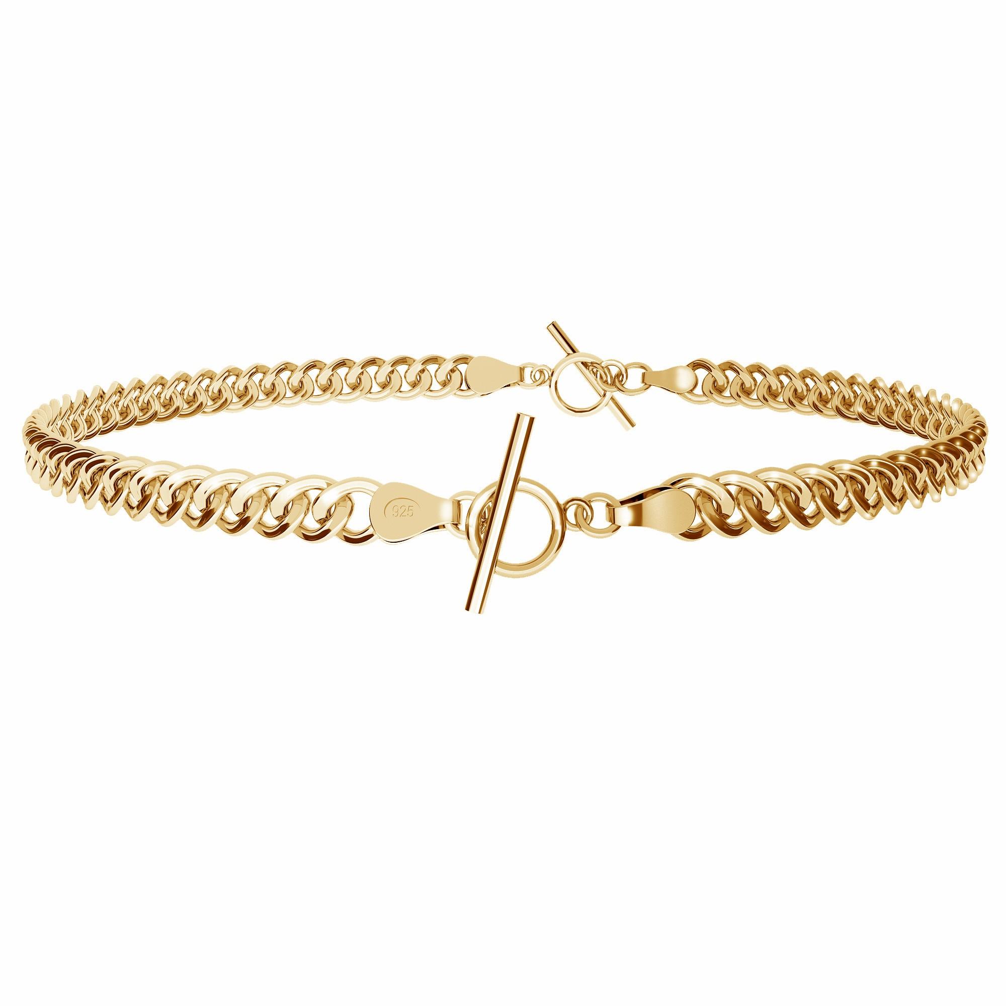 Choker or bracelet, chain sterling silver 925
