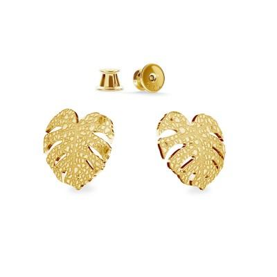 Beretta gun earrings, silver 925
