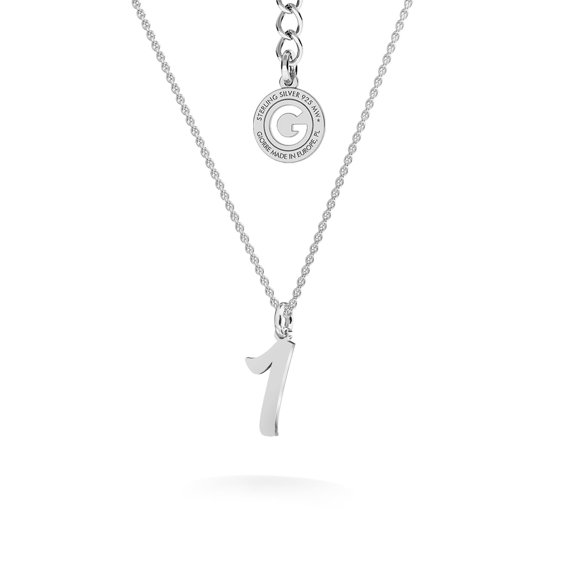 Halskette mit Brief silber 925