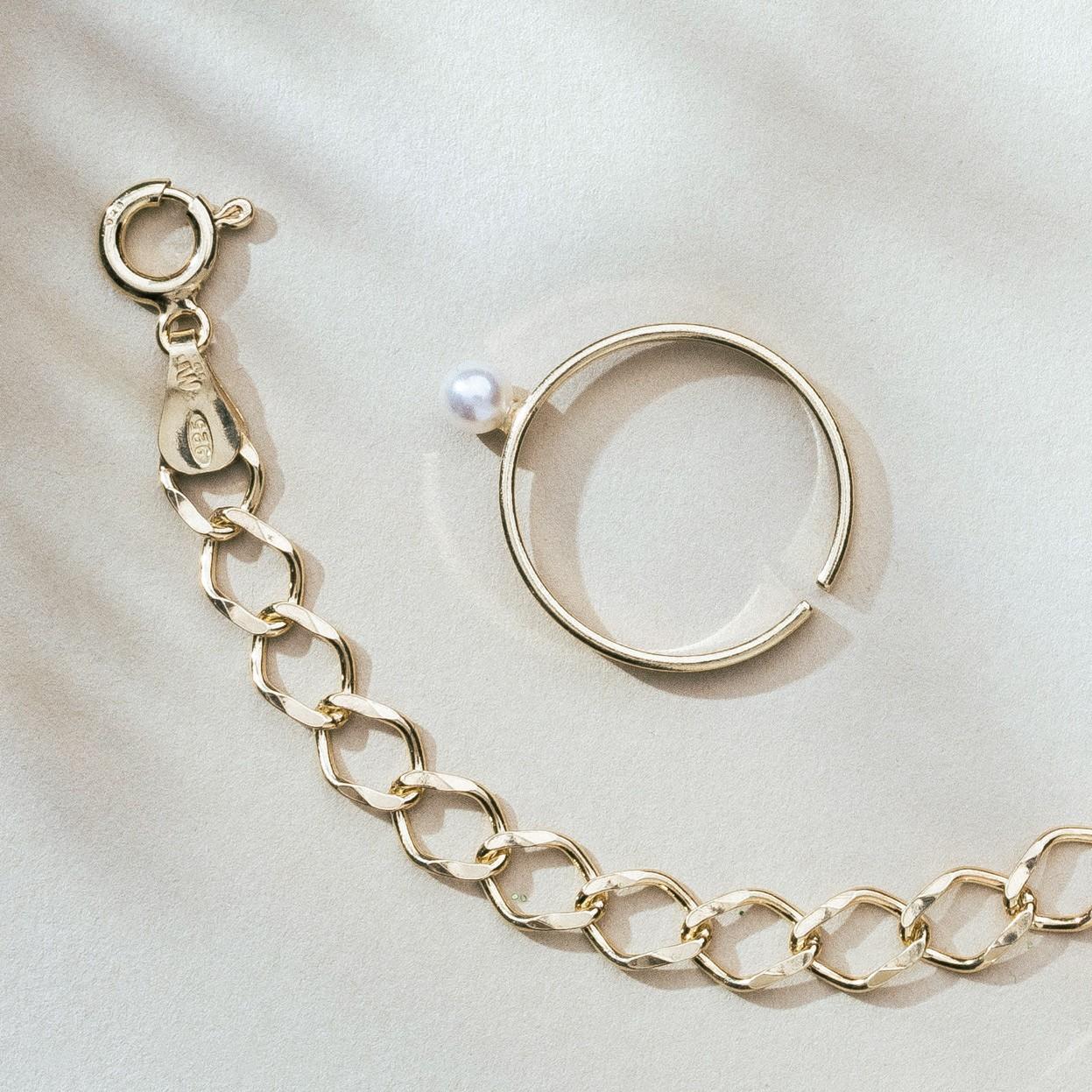 Serotonine ring, silver 925