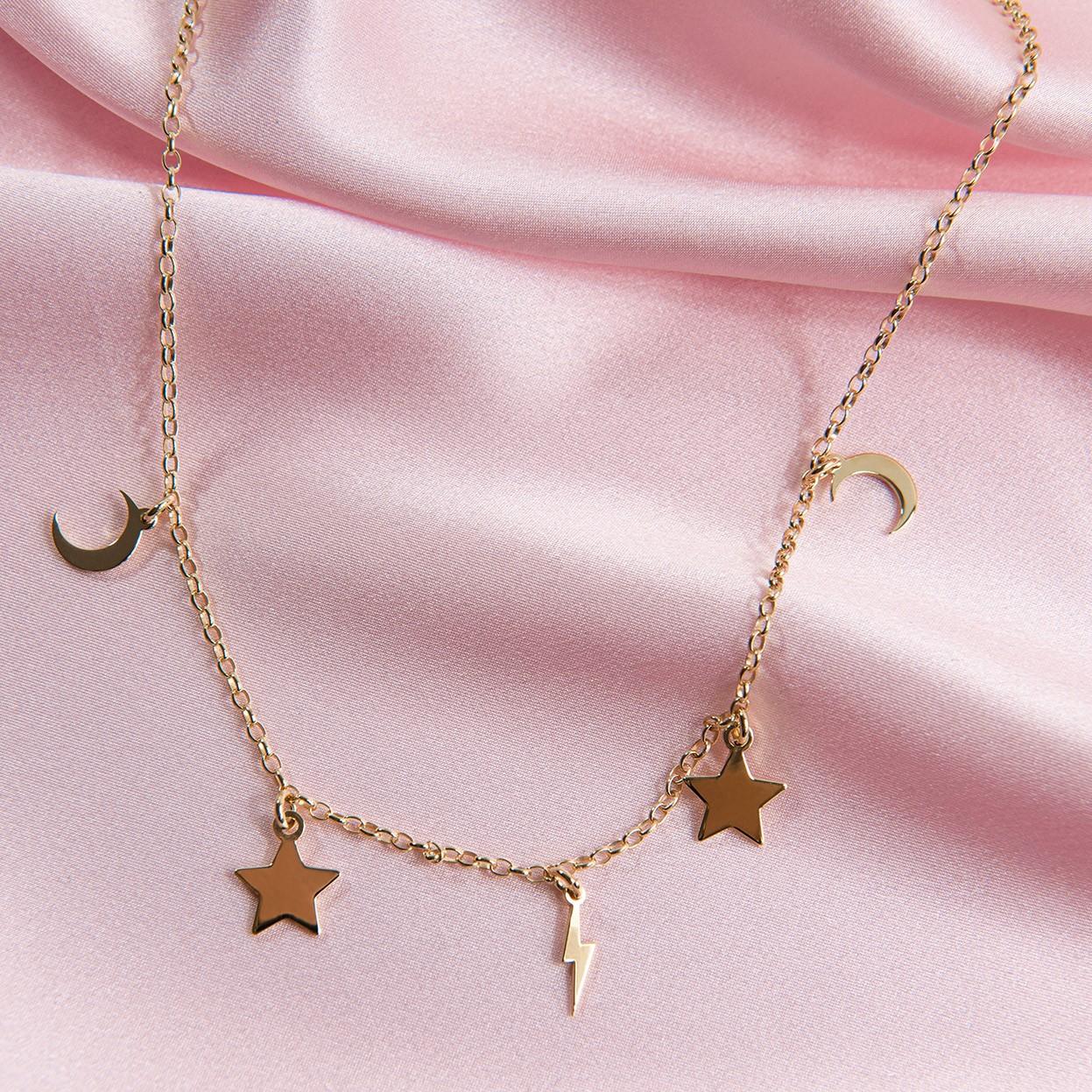 Srebrna bransoletka z małymi blaszkami MON DÉFI, srebro 925