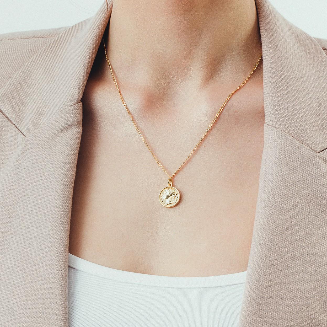 Mirror necklace 925