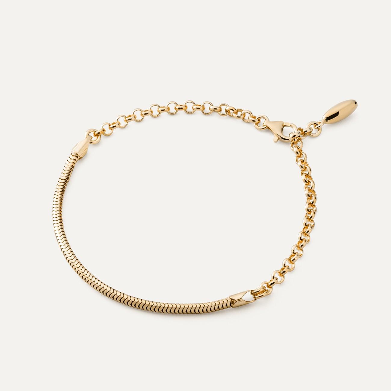 Bransoletka baza do beadsów i charmsów, srebro 925