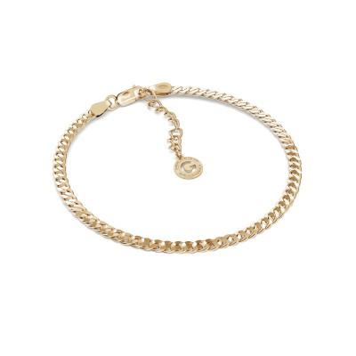 Curd chain bracelet MON DÉFI, Silver 925