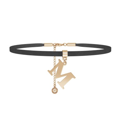 Choker - your letter, Silver 925