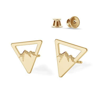 MOUNTAINS earrings MON DÉFI sterling silver 925