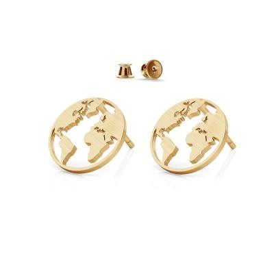 Earrings MON DÉFI sterling silver 925