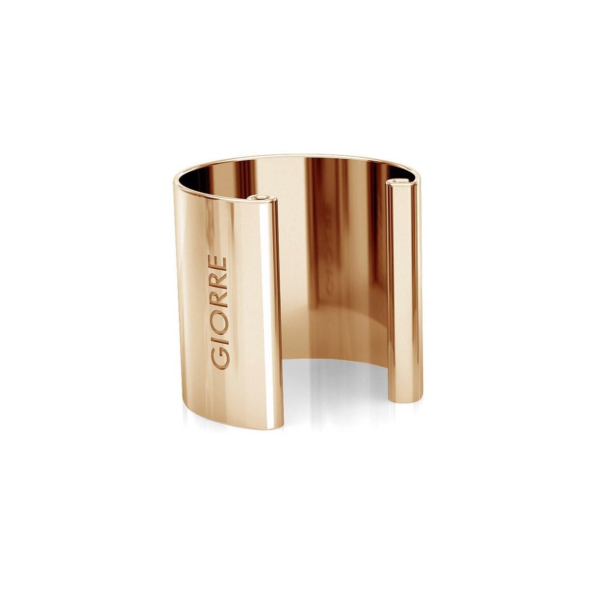 Chain earrings cone sterling silver 925