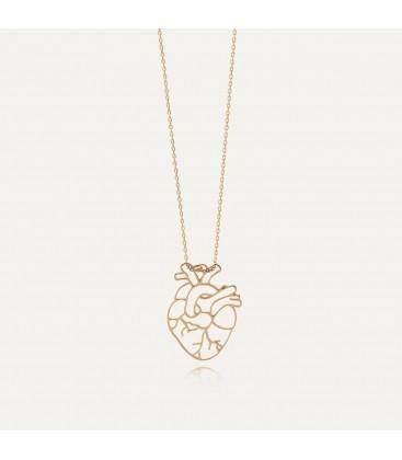 Collar corazón MON DÉFI plata 925