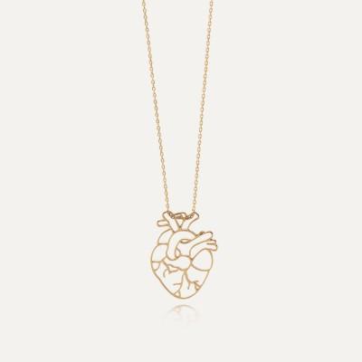 Halskette Baum mit Herz silber 925