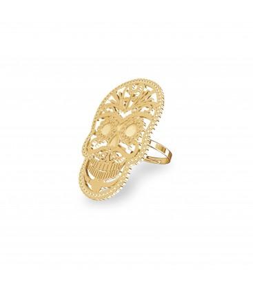 MON DÉFI Silver SUGAR SKULL ring 925