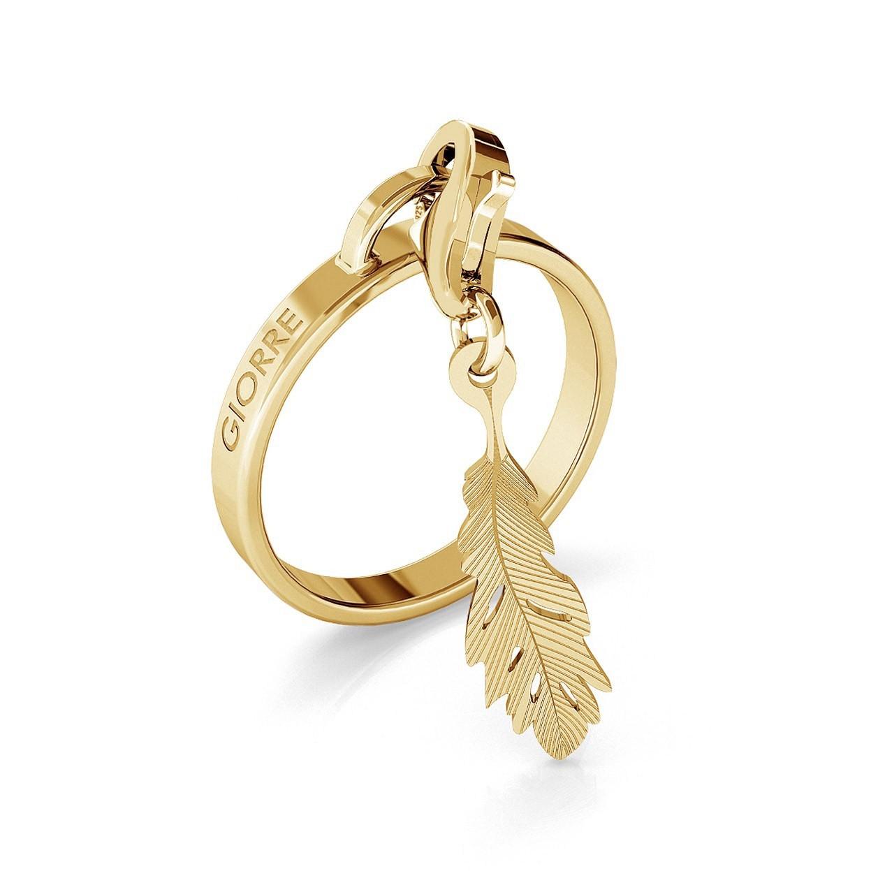 RING FUR ANHANGER, SILBER 925, RHODIUM BZW. GOLD