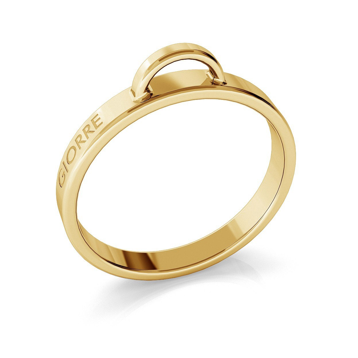 RING FOR CHARM, STERLING SILVER (925) RHODIUM OR GOLD PLATED