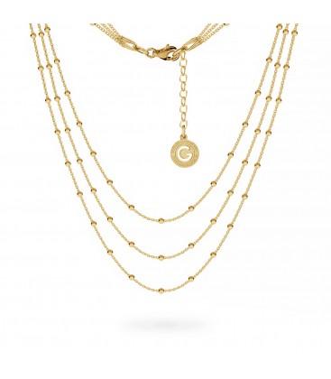 Collana choker base charms argento