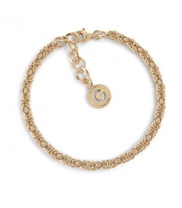 Pulsera cadena de la acera plata 925