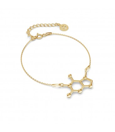 Schokolade armband chemische formel silber 925