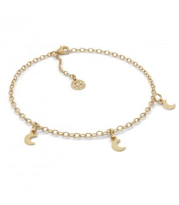Moon bracelet sterling silver