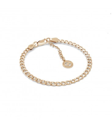 Silver bracelet curb sterling silver 925