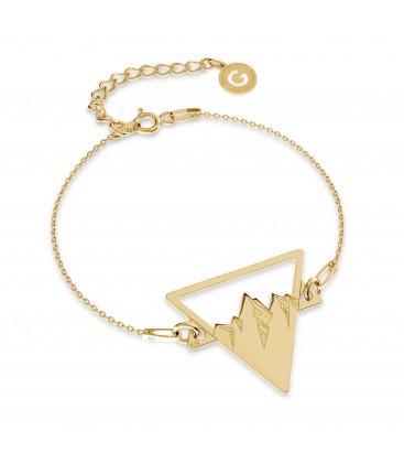 Montagne braccialetto MON DÉFI argento 925