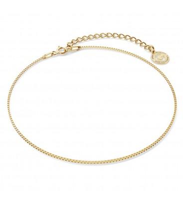 Srebrna bransoletka na nogę wenecjana, srebro 925