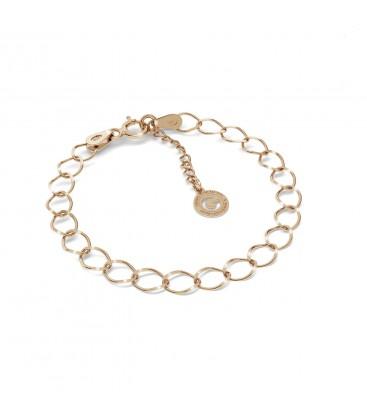 Choker cadena de la acera plata 925