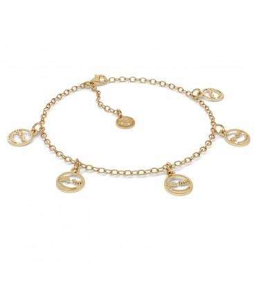 Smile bracelet sterling silver