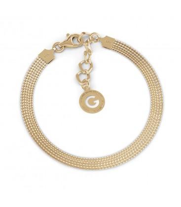 Srebrna bransoletka z 5 łańcuszków, srebro 925