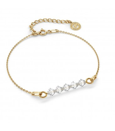 Bracelet with Swarovski crystals 4mm