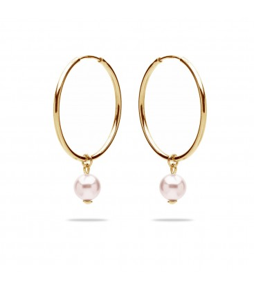 Perla orecchini argento 925