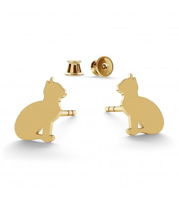 Pendientes de gatos
