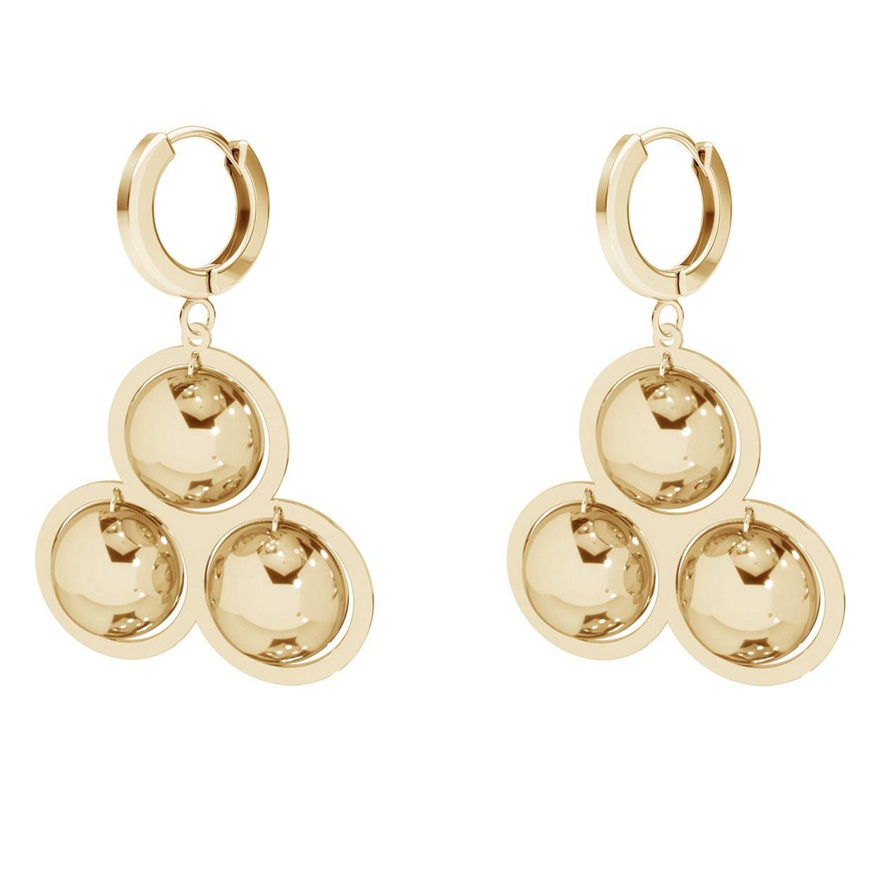 Romb earrings sterling silver 925