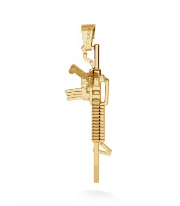 Machine gun charms pendant beads