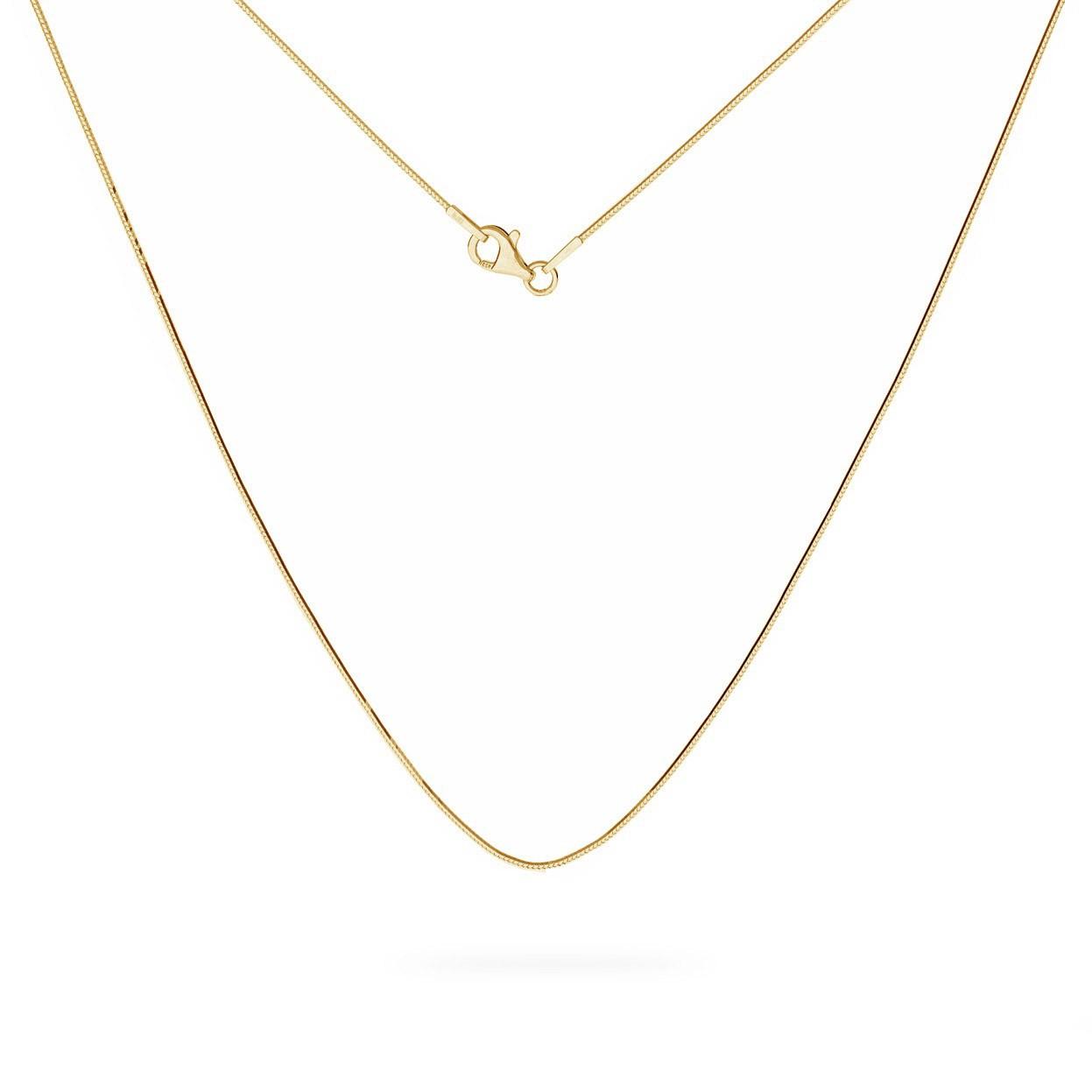 Srebrny łańcuszek linka diamentowana, srebro 925