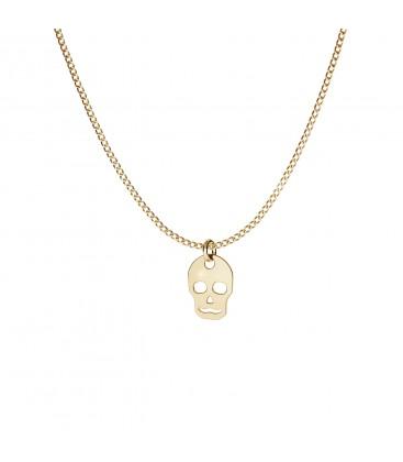 Craneo collar plata 925