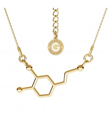 Dopamine necklace chemical formula