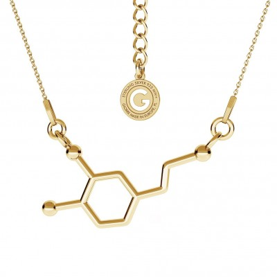 Necklace DOPAMINE chemical formula