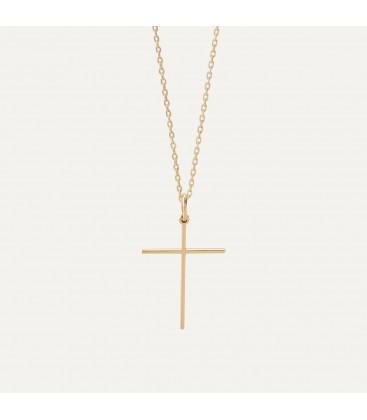 Srebrny naszyjnik krzyżyk, srebro 925