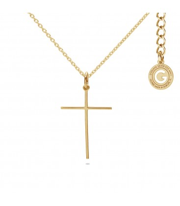 Sterling silver cross necklace 925