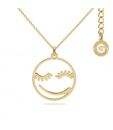 Smile necklace silver 925