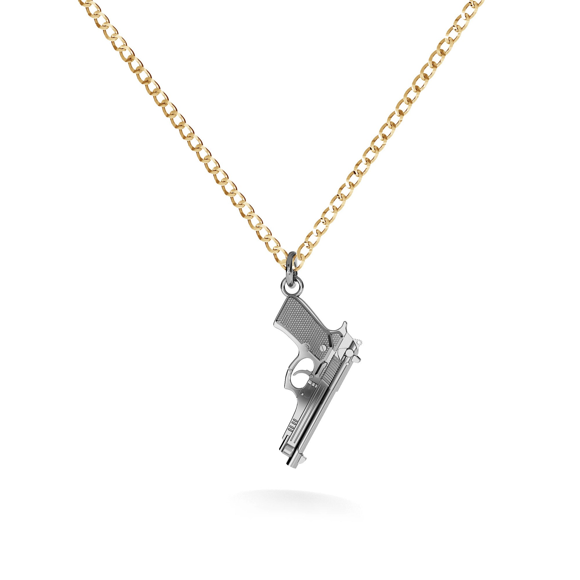 MACHINE GUN NECKLACE 925