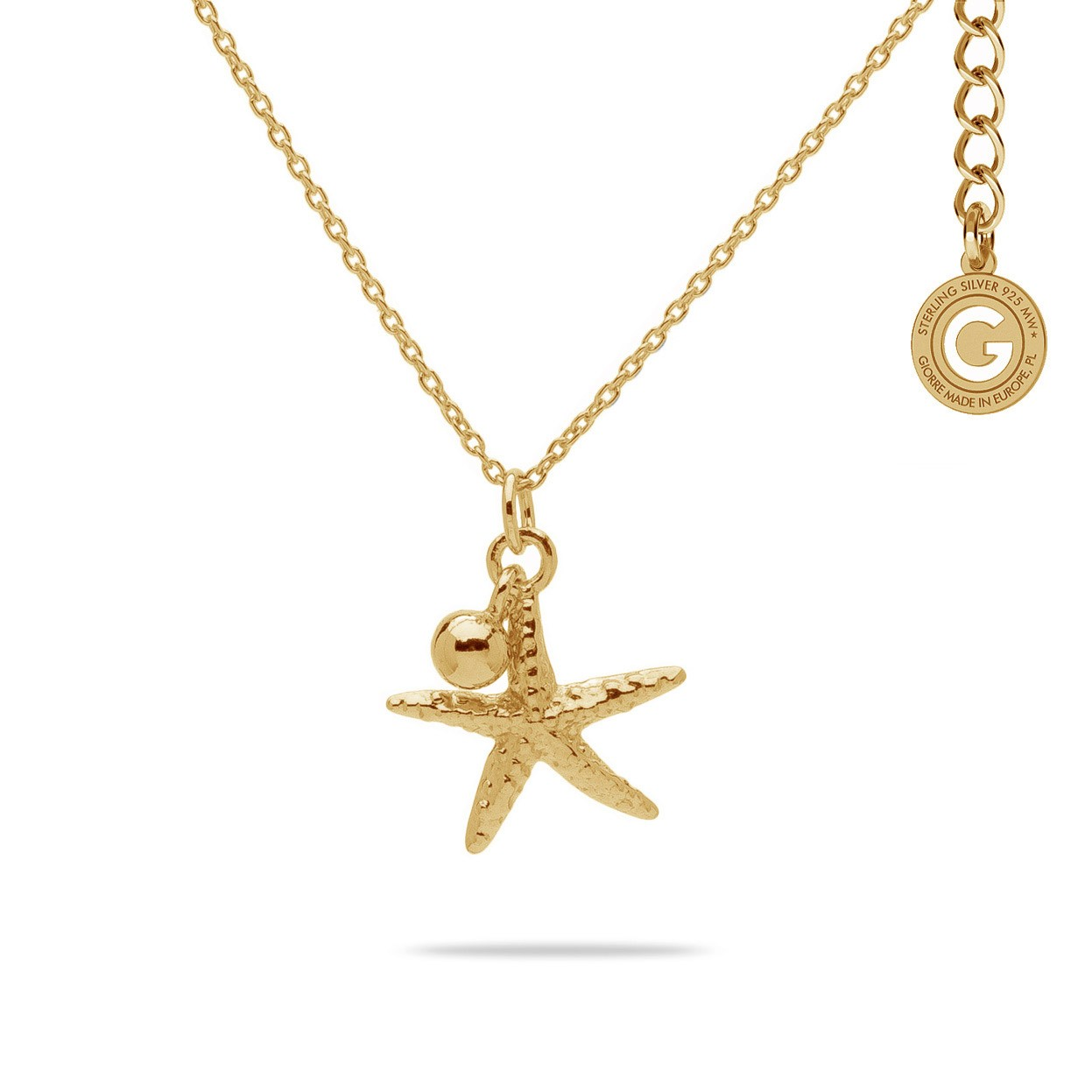 STARFISH NECKLACE STERLING SILVER 925