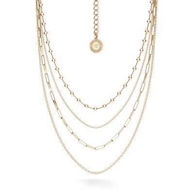 Geometric necklace silver 925