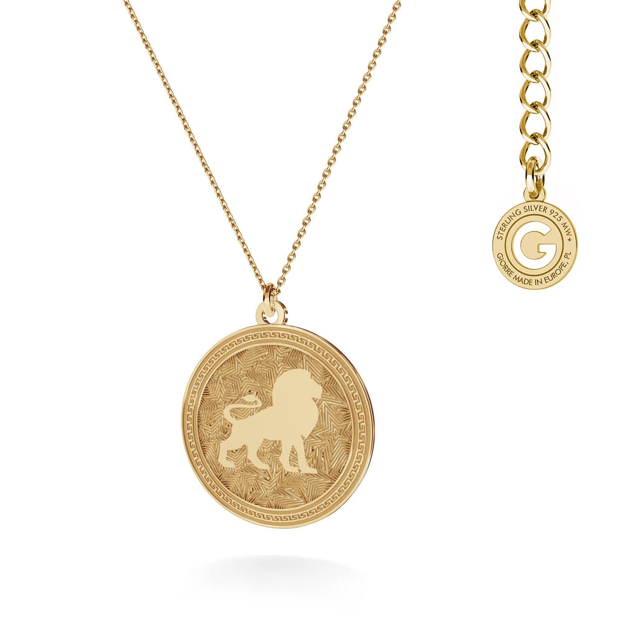 CANCER zodiac sign necklace silver 925