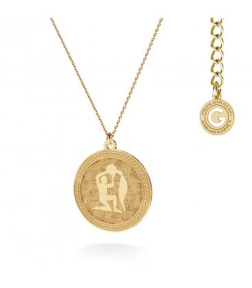 Srebrny naszyjnik znak zodiaku - wodnik, 925 - MON DÉFI, srebro 925
