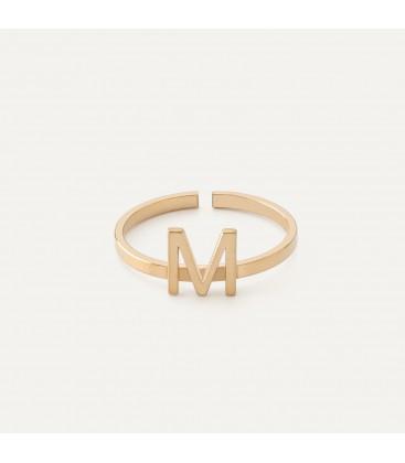 Anello con una lettera, argento 925 My RING™